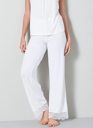Chakra Jess Pijama Altı Beyaz